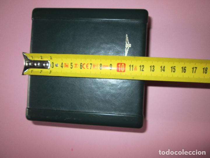 Recambios de relojes: caja-reloj-longines-verde-muy pesada-almohadilla longines con algo desgaste-buen estado - Foto 3 - 115687774