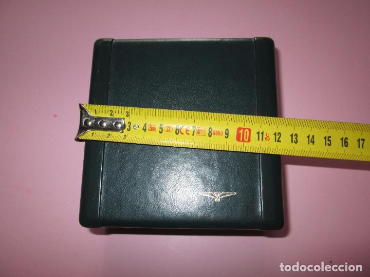 Recambios de relojes: caja-reloj-longines-verde-muy pesada-almohadilla longines con algo desgaste-buen estado - Foto 12 - 115687774
