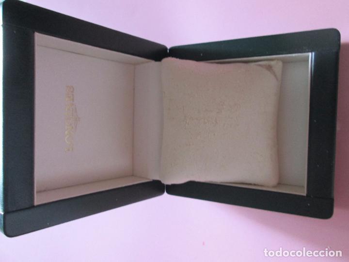 Recambios de relojes: caja-reloj-longines-verde-muy pesada-almohadilla longines con algo desgaste-buen estado - Foto 15 - 115687774