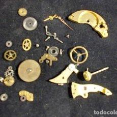 Recambios de relojes: ANTIGUAS PIEZAS DE RELOJ DE BOLSILLO PARA REPARACIONES. Lote 94150150