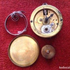 Recambios de relojes: DESPIECE DE MAQUINARIA DE REJOJ MINIATURA DE LA SELVA NEGRA. PRINCIPIOS SIGLO XX.. Lote 95676127