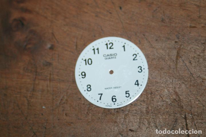 Recambios de relojes: CINCO ESFERAS RELOJ DIFERENTES MARCAS Y TAMAÑOS 2,5 2,6 2,9 SEGUN FOTOS - Foto 3 - 96651415