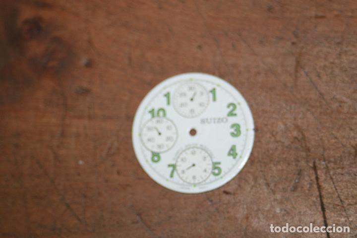 Recambios de relojes: CINCO ESFERAS RELOJ DIFERENTES MARCAS Y TAMAÑOS 2,5 2,6 2,9 SEGUN FOTOS - Foto 4 - 96651415