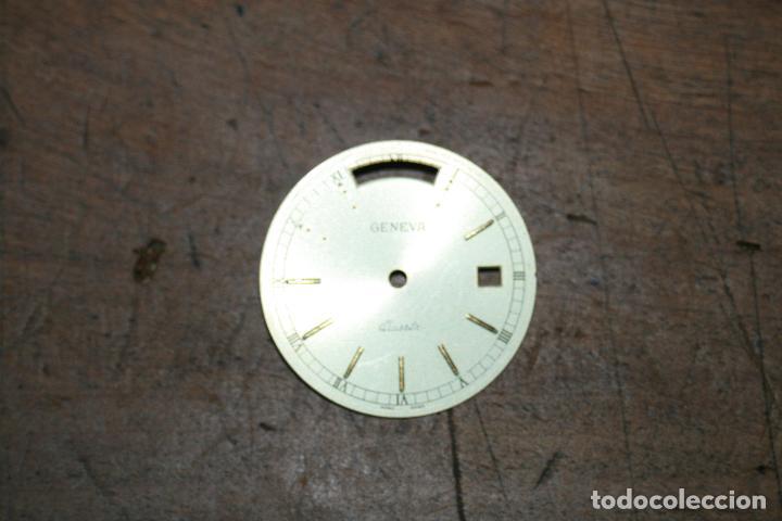 Recambios de relojes: CINCO ESFERAS RELOJ DIFERENTES MARCAS Y TAMAÑOS 2,5 2,6 2,9 SEGUN FOTOS - Foto 8 - 96651415