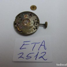Recambios de relojes: ETA 2512. Lote 98079823