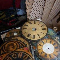 Recambios de relojes: LOTE DE MAQUINAS Y ESFERAS DE SELVA NEGRA. Lote 98131847