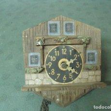 Recambios de relojes: ANTIGUO RELOJ SELVA NEGRA DE ALEMANIA- AÑO 1870- LOTE 69. Lote 99477507