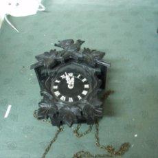 Recambios de relojes: ANTIGUO RELOJ SELVA NEGRA DE ALEMANIA- RESTAURAR O PIEZAS - LOTE 70. Lote 100173387