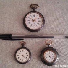 Recambios de relojes: RELOJES DE BOLSILLO PARA PIEZAS. Lote 101206935