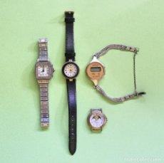 Recambios de relojes: LOTE DE RELOJES DE PULSERA PARA PIEZAS. Lote 101544971