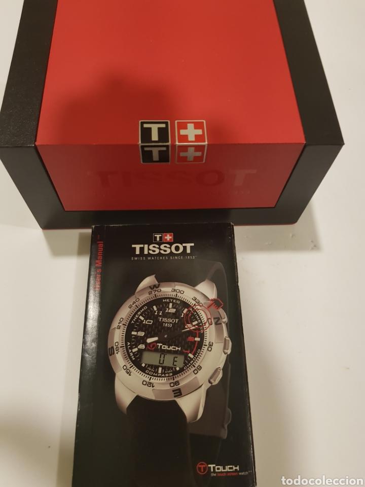 tissot caja reloj manual touch comprar recambios de relojes en rh todocoleccion net manual de uso reloj tissot touch Tissot T-Touch Titanium Watch