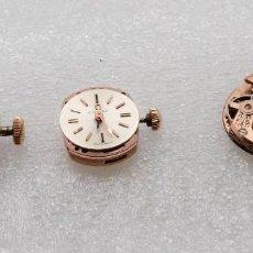 Recambios de relojes: LOTE MAQUINARIA OMEGA, LONGINES Y DUWARD CUERDA MANUAL SEÑORA. Lote 103379263