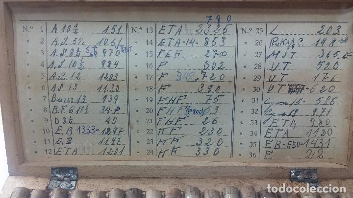 Recambios de relojes: Enorme lote de ejes volantes de reloj hay de casi todas las marcas, Cyma, Oris, Cronografos.... - Foto 9 - 103643959