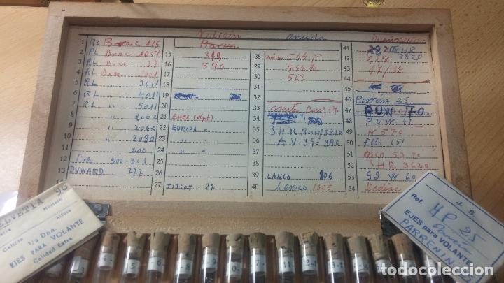 Recambios de relojes: Enorme lote de ejes volantes de reloj hay de casi todas las marcas, Cyma, Oris, Cronografos.... - Foto 17 - 103643959