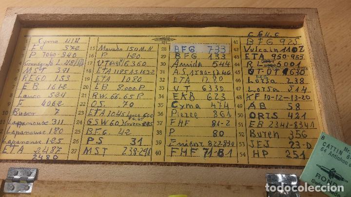 Recambios de relojes: Enorme lote de ejes volantes de reloj hay de casi todas las marcas, Cyma, Oris, Cronografos.... - Foto 19 - 103643959
