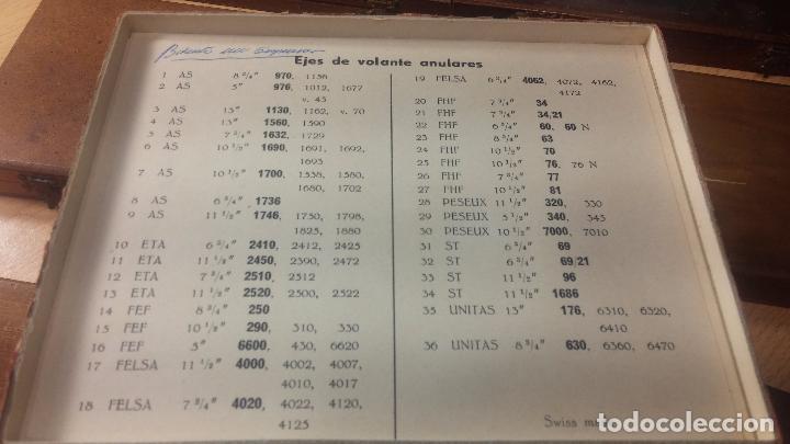 Recambios de relojes: Enorme lote de ejes volantes de reloj hay de casi todas las marcas, Cyma, Oris, Cronografos.... - Foto 49 - 103643959