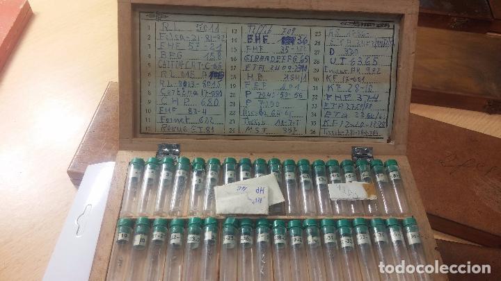 Recambios de relojes: Enorme lote de ejes volantes de reloj hay de casi todas las marcas, Cyma, Oris, Cronografos.... - Foto 51 - 103643959