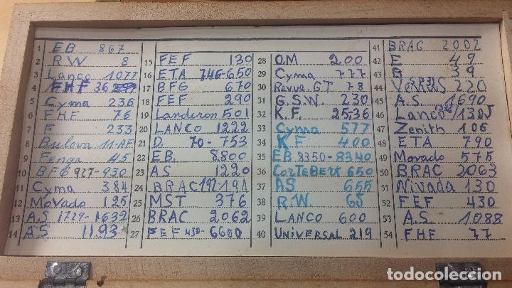 Recambios de relojes: Enorme lote de ejes volantes de reloj hay de casi todas las marcas, Cyma, Oris, Cronografos.... - Foto 62 - 103643959