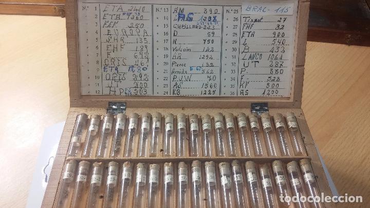 Recambios de relojes: Enorme lote de ejes volantes de reloj hay de casi todas las marcas, Cyma, Oris, Cronografos.... - Foto 67 - 103643959