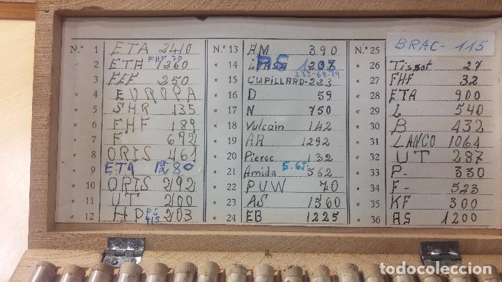 Recambios de relojes: Enorme lote de ejes volantes de reloj hay de casi todas las marcas, Cyma, Oris, Cronografos.... - Foto 68 - 103643959