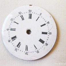 Recambios de relojes: ESFERA DE RELOJ ESMALTADA CON SECUNDERO EXTERIOR.. Lote 103981815