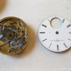 Recambios de relojes: MAQUINARIA DE RELOJ DE SONERÍA. FRENCH ROYAL EXCHANGE. 10070. CLOCK. WATCH MOVEMENT.. Lote 129201512