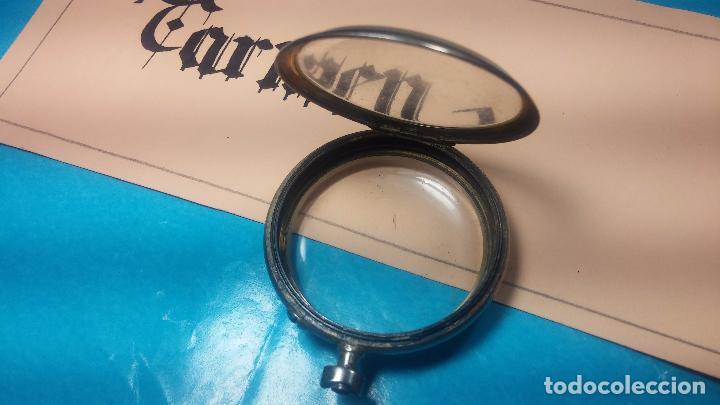 Recambios de relojes: Botita y curiosa caja de reloj de bolsillo de caballero Skeleton - Foto 2 - 103998907