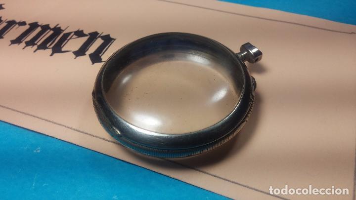 Recambios de relojes: Botita y curiosa caja de reloj de bolsillo de caballero Skeleton - Foto 11 - 103998907