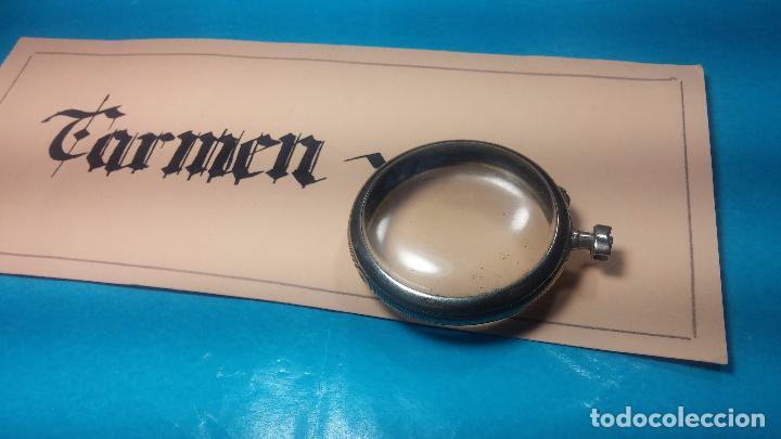 Recambios de relojes: Botita y curiosa caja de reloj de bolsillo de caballero Skeleton - Foto 17 - 103998907