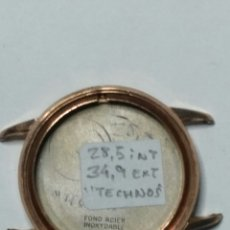 Recambios de relojes: CAJA, CARRURA RELOJ TECHNOS. Lote 104152750