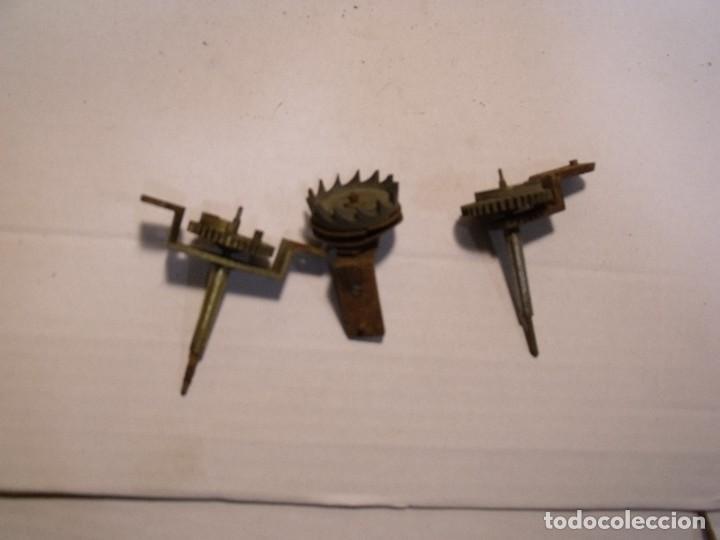 Recambios de relojes: 3 piezas para reloj Morez de pesas lote 79- nº 1 - Foto 2 - 106014007