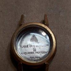 Recambios de relojes: CAJA CUERPO RELOJ OMEGA CON CRISTAL CHAPADO EN ORO ORIGINAL AÑOS 60. Lote 107708216