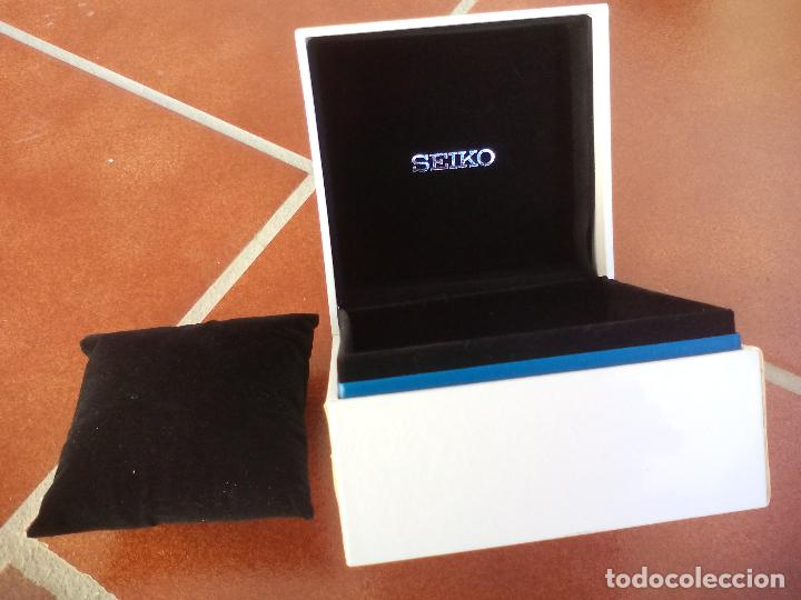 Recambios de relojes: Caja o estuche para reloj Seiko. - Foto 2 - 107727407