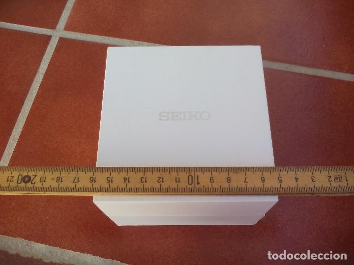 Recambios de relojes: Caja o estuche para reloj Seiko. - Foto 6 - 107727407