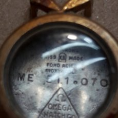 Recambios de relojes: CAJA CUERPO RELOJ ANTIGUO OMEGA ORO 20 MICRONS. Lote 107833394