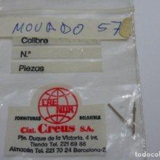 Recambios de relojes: MOVADO 57, TIJAS.. Lote 107923851