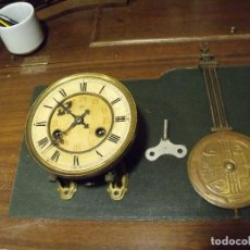 Recambios de relojes: ANTIGUA MAQUINARIA JUNGHANS PARA RELOJ ALFONSINO- AÑO 1910-20 - FUNCIONAL- LOTE 83. Lote 108268371