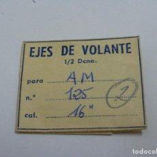 Recambios de relojes: AM 125, EJES DE VOLANTE.. Lote 108397179