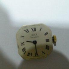 Recambios de relojes: MAQUINARIA Y ESFERA RELOJ ROCA SRA.. Lote 108494407