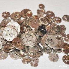 Recambios de relojes: LOTE 96 MAQUINAS RELOJEROS PARA RECAMBIOS .. Lote 108750483
