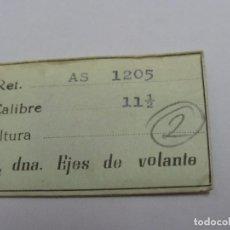 Recambios de relojes: AS 1205, EJES.. Lote 108914195