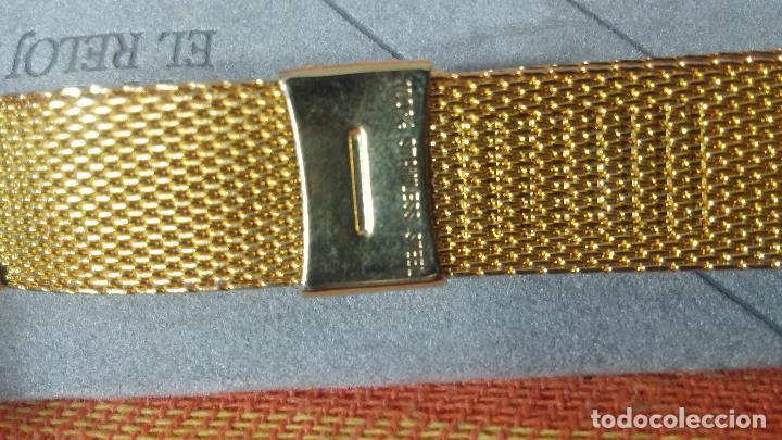 Recambios de relojes: Antiguo armis o correa para reloj dorado,adaptable, antiguo stock de tienda, estilo deportivo drive - Foto 16 - 108935307