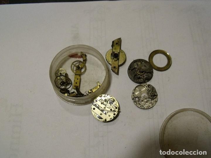 Recambios de relojes: LOTE DIVERSAS MAQUINARIAS RELOJES PULSERA- LOTE 86 - Foto 2 - 110498095