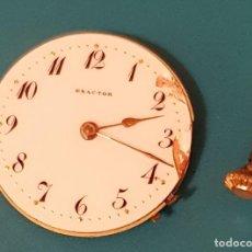 Recambios de relojes: MAQUINARIA PARA PIEZAS RELOJ EXACTOR. Lote 111624419