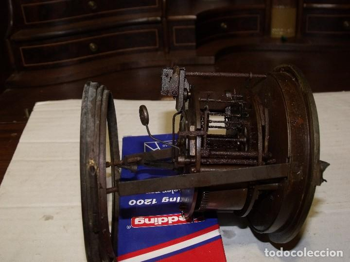 Recambios de relojes: Antigua maquinaria Paris para reloj sobremesa-año 1878- lote 87-para restaurar o piezas - Foto 7 - 111631411