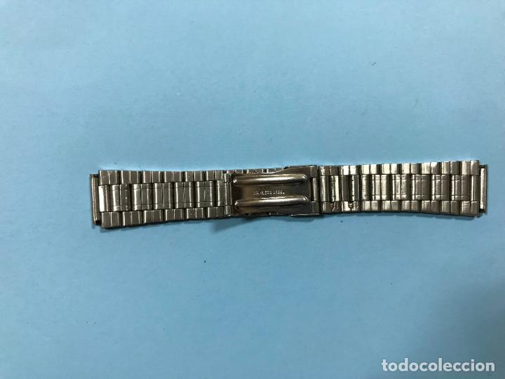 Recambios de relojes: ARMIS DE ACERO INOXIDABLE PARA RELOJ CABALLERO, NUEVA A ESTRENAR - Foto 2 - 111998859
