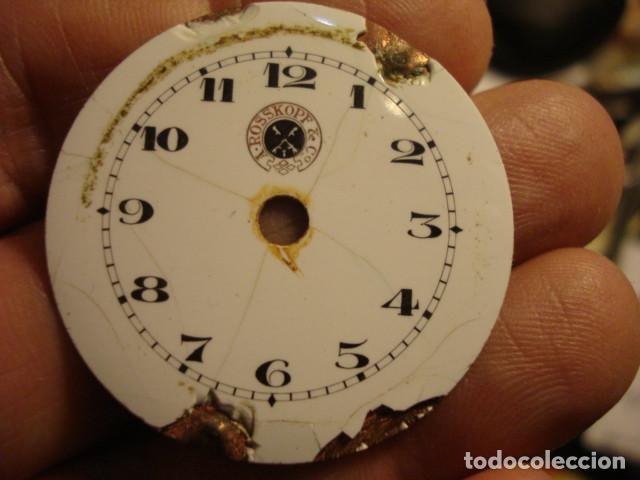 ESFERA DE PORCELANA MARCA A. ROSSKOPF & CO - CON DEFECTOS (Relojes - Recambios)