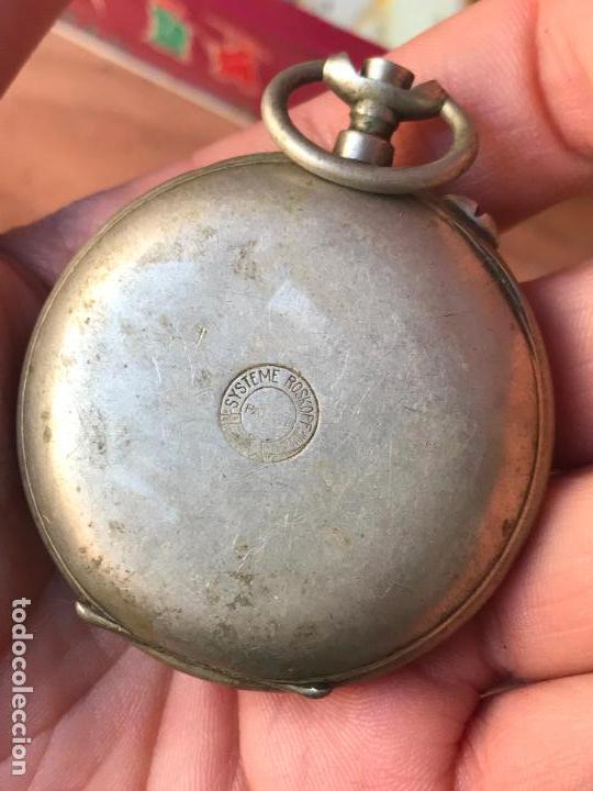 Recambios de relojes: reloj de bolsillo Ferrovie dello Stato - Italia roskopf - Foto 2 - 113192371