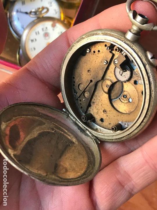 Recambios de relojes: reloj de bolsillo Ferrovie dello Stato - Italia roskopf - Foto 3 - 113192371