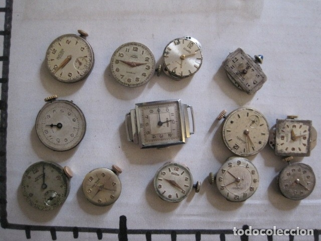 Recambios de relojes: LOTE RELOJES PULSERA ETC. PARA PIEZAS RECAMBIO ETC. -VER FOTOS - (V-13.662) - Foto 9 - 113817035